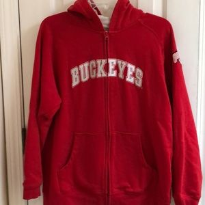 Majestic Ohio State Univ Youth XL Sweatshirt